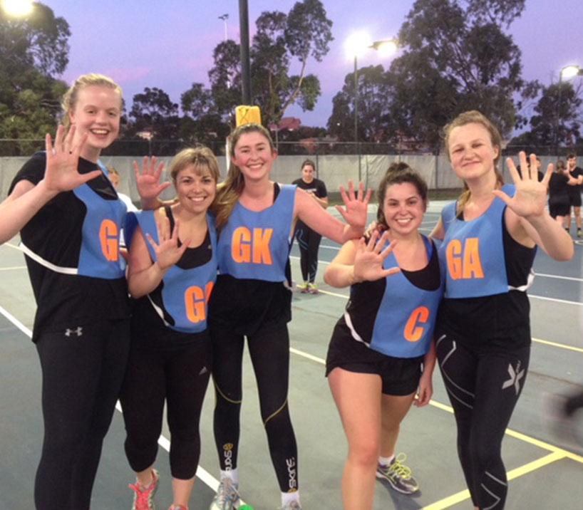 fast five netball