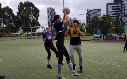 Melbourne Social Netball Monday Night