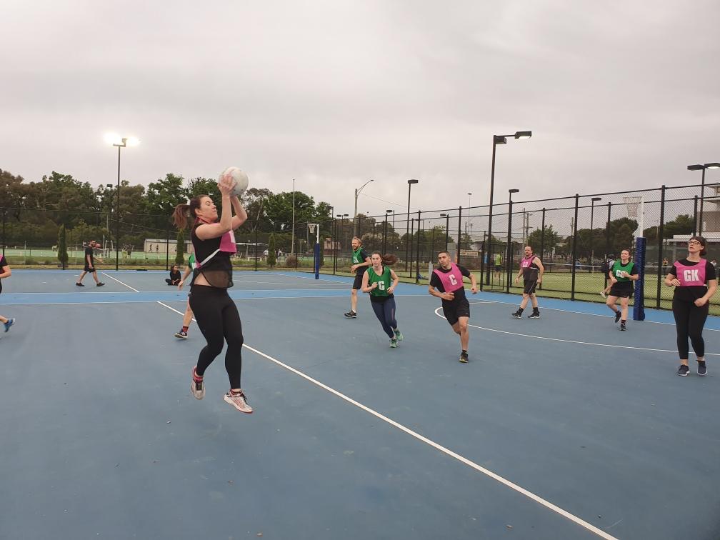 Brunswick Mixed Netball Melbourne Social Netball
